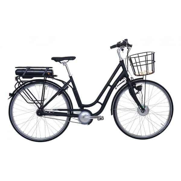 "E-Bike ""Fanø"" retro dame schwarz"
